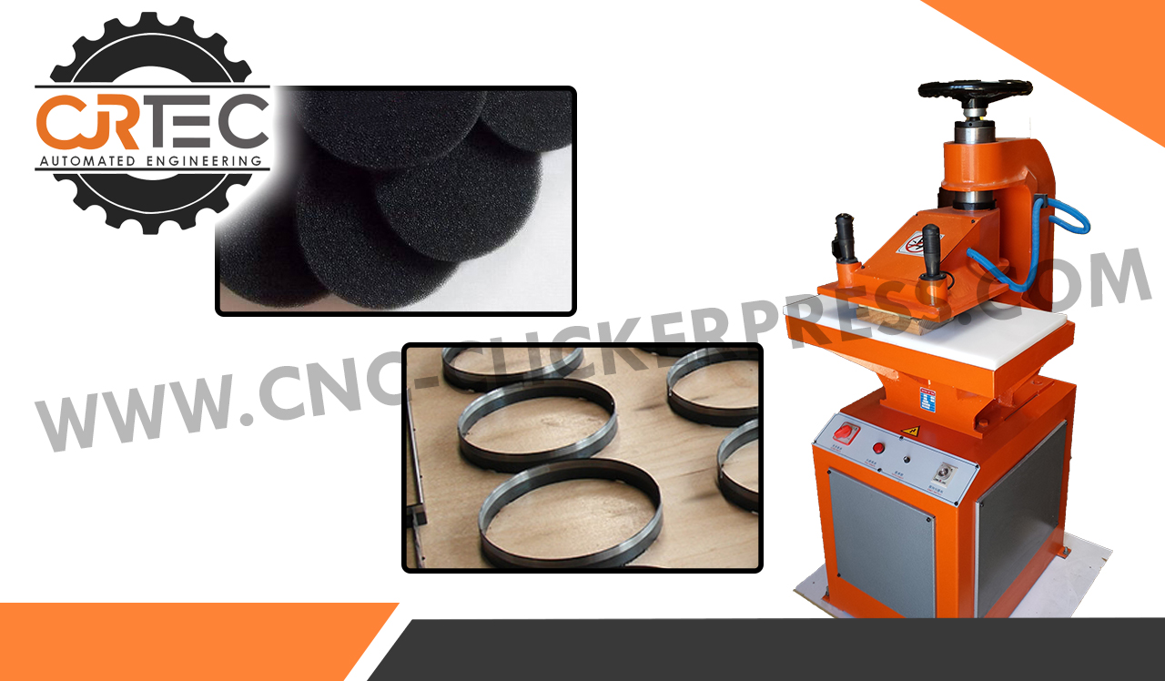 foam die cutting cnc clicker press