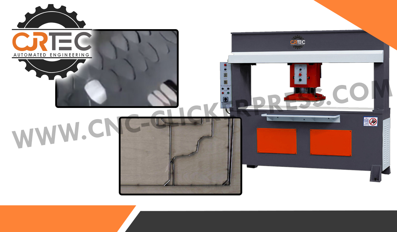 rubber die cutting cnc clicker press